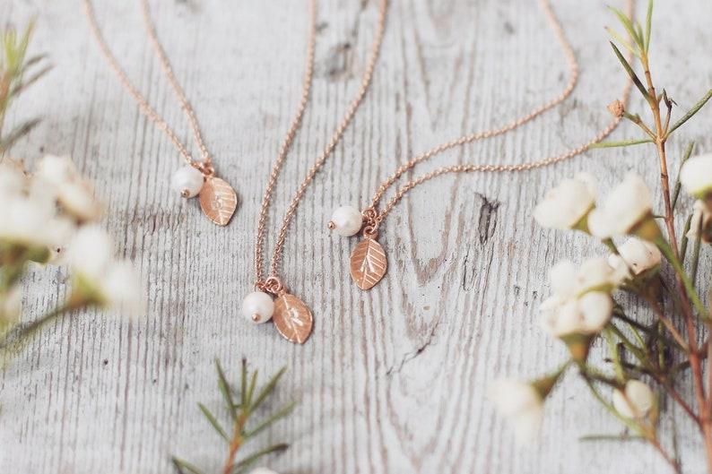 Halskette für Trauzeugin und Brautjungfern, Geschenke für Trauzeugen