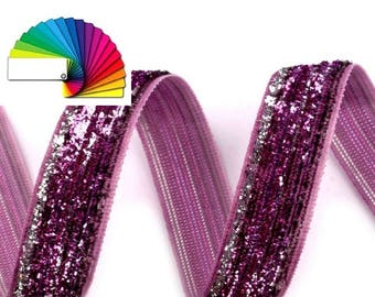 Velvet Ribbon width 13 mm with Lurex