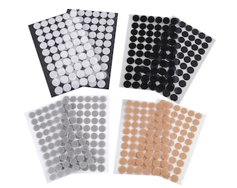 Velcro 250 Hook And 250 Loop Stick On Sticky Dots//Coins//Discs Black 13mm
