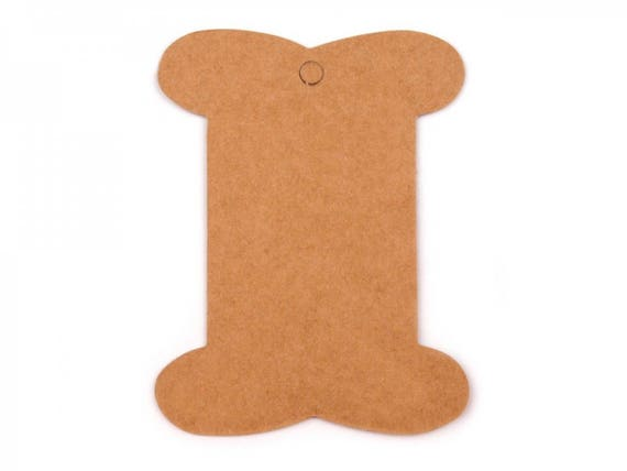 achat spécial haut de gamme véritable bon ajustement 10 cartonnettes a rubans 8x10 cm / Support fils ou rubans, cartes de  présentation, cartonnettes