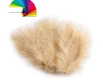 Ostrich Feathers length 10-17 cm