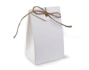 3 bag gift 7 x 12 cm with twine