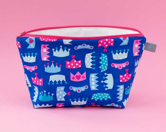 Princess Tiara Wash Bag / Toiletry Bag