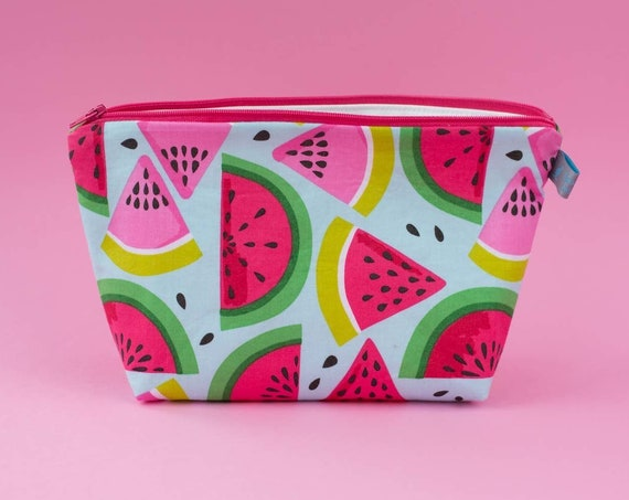 Watermelon Cosmetic Bag (2 sizes available)