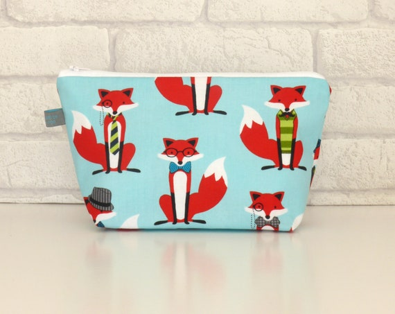 Dapper Fox Cosmetic Bag *PRE-ORDER*