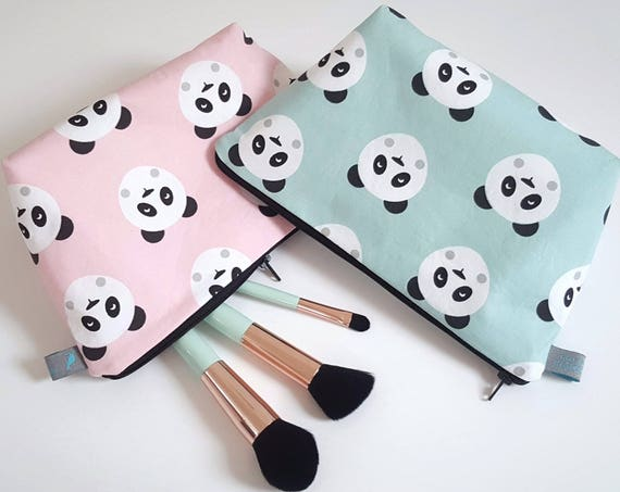 Panda Wash Bag Makeup Bag