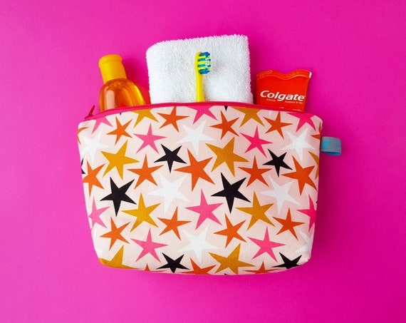 Stars Cosmetic Bag / Kids Wash Bag