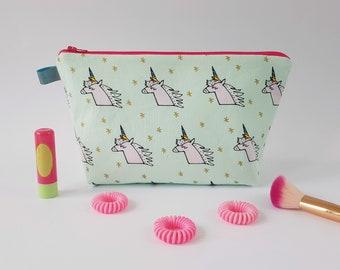 Unicorn Wash Bag / Cosmetic Bag