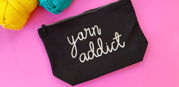 Yarn Addict Project Bag