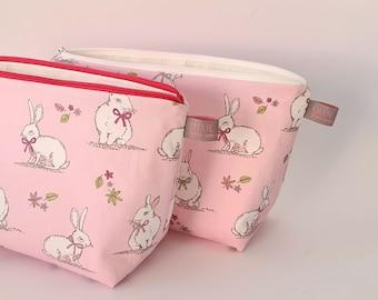 Rabbit / Bunny Wash Bag Easter Gift