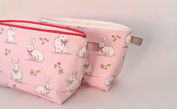 Rabbit / Bunny Wash Bag Easter Gift