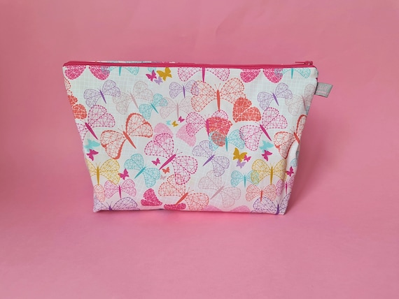 EXCLUSIVE: Large Butterfly Cosmetic Bag