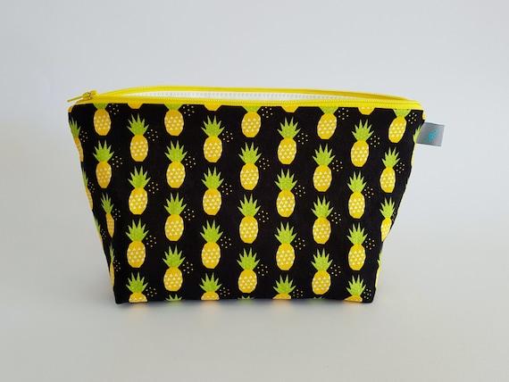 Pineapple Makeup Bag / Cosmetic Bag
