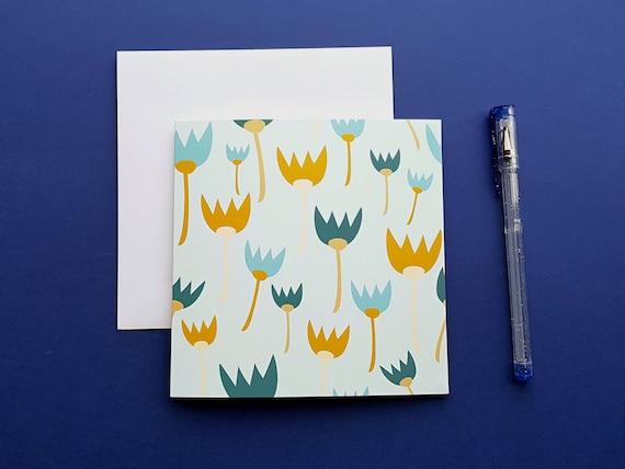 TULIP CARD - BLANK