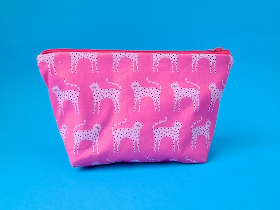 Pink Cats Toiletry Bag / Kids Wash Bag