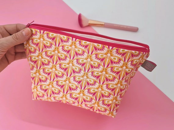 Butterfly Cosmetic Bag / Makeup Bag / Wet Bag