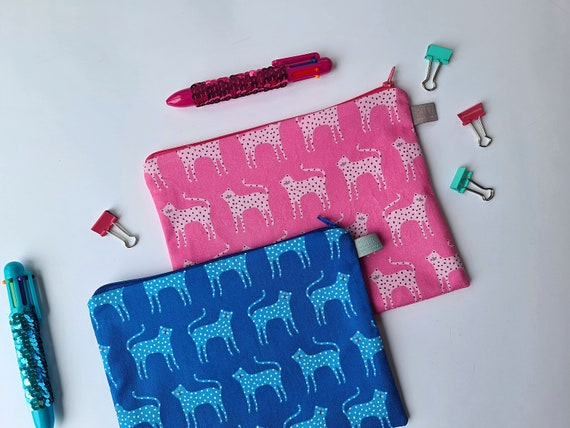 Cat Pencil Case / Cosmetic Pouch