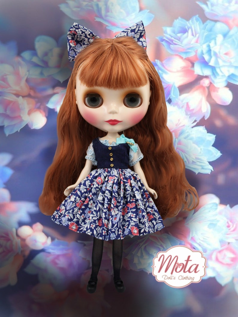 Blythecon Minneapolis outfit blue sky  for neo blythe doll