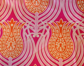 NOTTING HILL by Joel Dewberry - Fabric - Tulips in Tangerine - Quilting - Sewing - Home Decor - Crafting - Floral - Tulips - Flowers