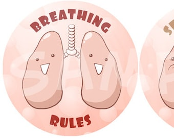 Lungs Pinback Buttons
