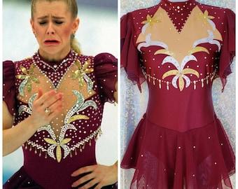 style 01 - Tonya Harding replica dress with Swarovski BLING!!