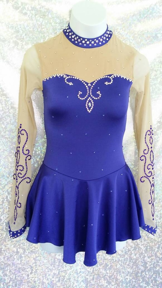 style 88-54 !! Girls Lace Ice Skating Dress ANY COLOR