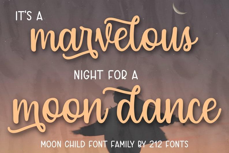Clean Script OTF Envelope Wedding Font Sans serif and handwritten script Beautiful Girly handwriting Moon Child script font Caps Font