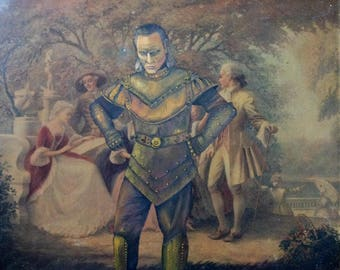 Ghostbusters Vigo the Carpathian Parody Painting - Altered Enhanced Thrift Art - Print, Poster, Canvas - Funny Ghostbusters Artwork Fan Gift