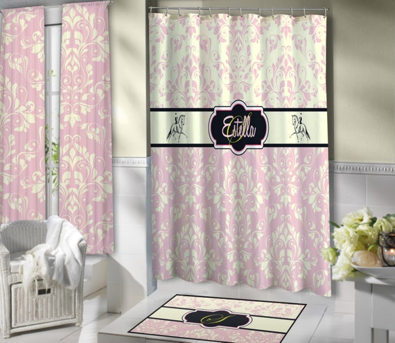 Horse Shower Curtains Elegant Curtain Dressage