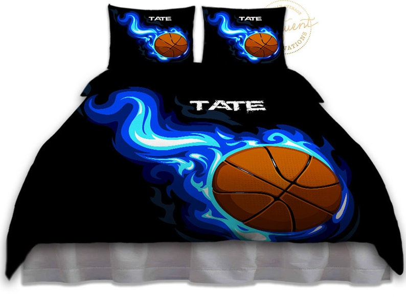 Boys Bedding Sets Twin Queen King Basketball Bedding For Boys Personalized Duvet Cover College Bedding Dorm Bedding Twin XL 12