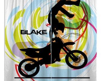 Motocross Blankets Green Amp White Stripes Motocross Blanket