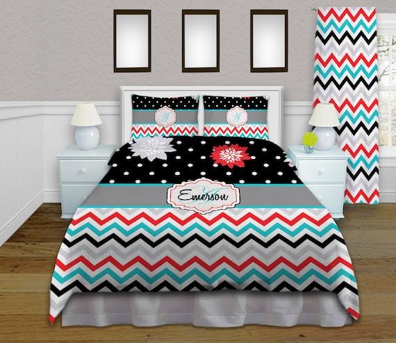 Fl Chevron Twin Xl Comforter, Chevron Bedding Twin Xl