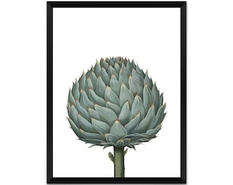 Picture, print, artichoke wall art, illustration, poster,wall decor, A4, A3