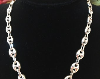 925 FAS silver three layer braided bracelet