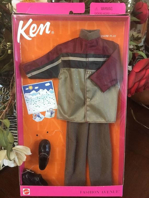 Vintage Ken fashion avenue dream snow play coat pant shoes set   Etsy