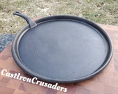 14 quot Cast Iron Griddle, 1800 39 s. Lightweight. Gate Mark.