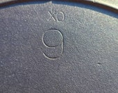 Vintage Lodge 1940 39 s 9 Skillet With XO and SW Maker 39 s Mark. No Imperfections.