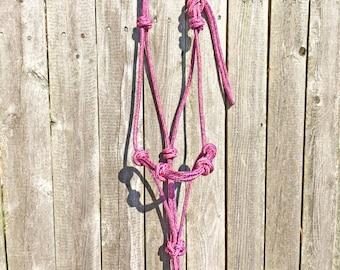 Custom 4 Knot Rope Halter, Custom Horse Halter, Rope Halter, 4 Knot Rope Halter, Horse Halter, Clinician Halter, Yacht Rope Halter