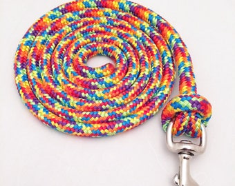 8 Foot Custom Lead Rope, Yacht Lead Rope, 8 Foot Lead Rope, Custom Lead Rope, Lead Rope, Horse Tack, Horse Lead Rope, Clinician Lead Rope
