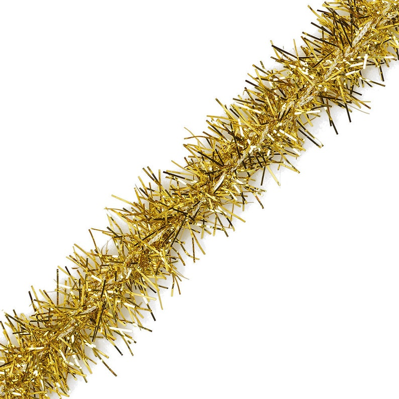 Christmas Tinsel Garland.20mm Tinsel Garland Christmas Tinsel Trim 5 Yards 5 Colors Step 16534
