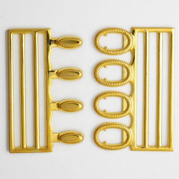 Metal Fastener Gold Metal Closure Accessory