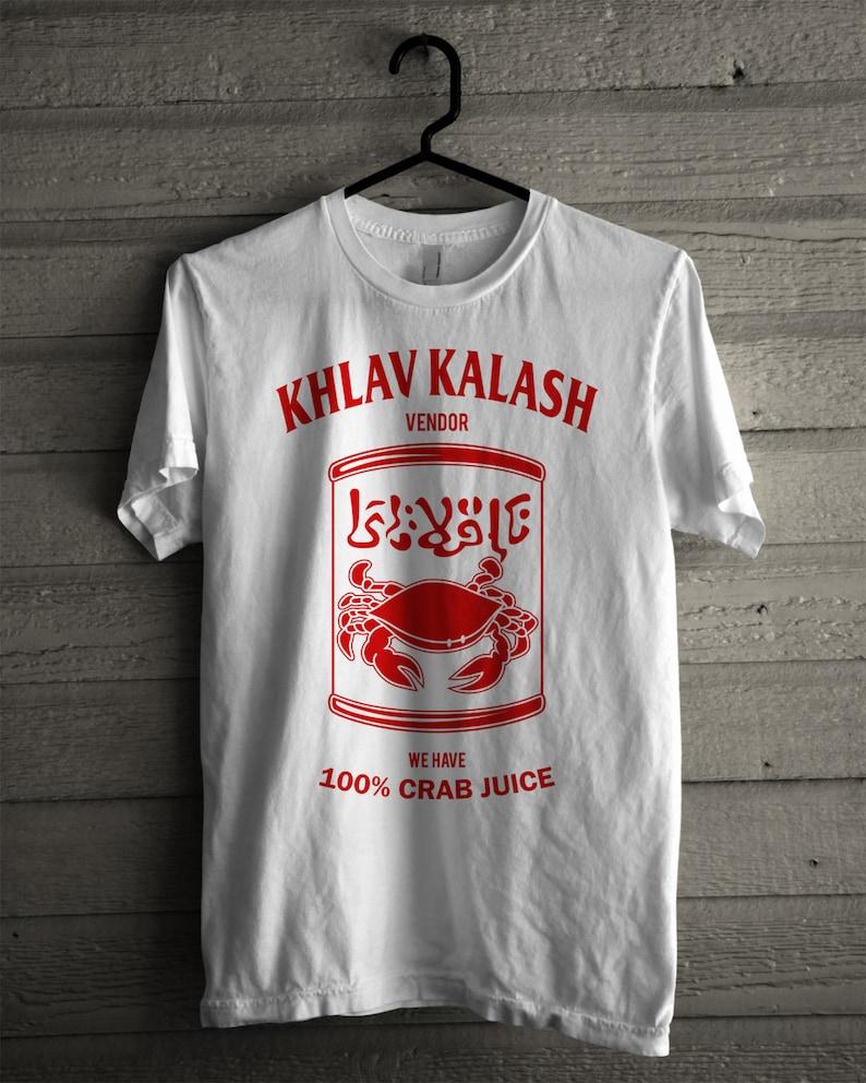 62e760a4 Simpsons Tee Khlav Kalash Crab Juice Vendor Shirt | Etsy