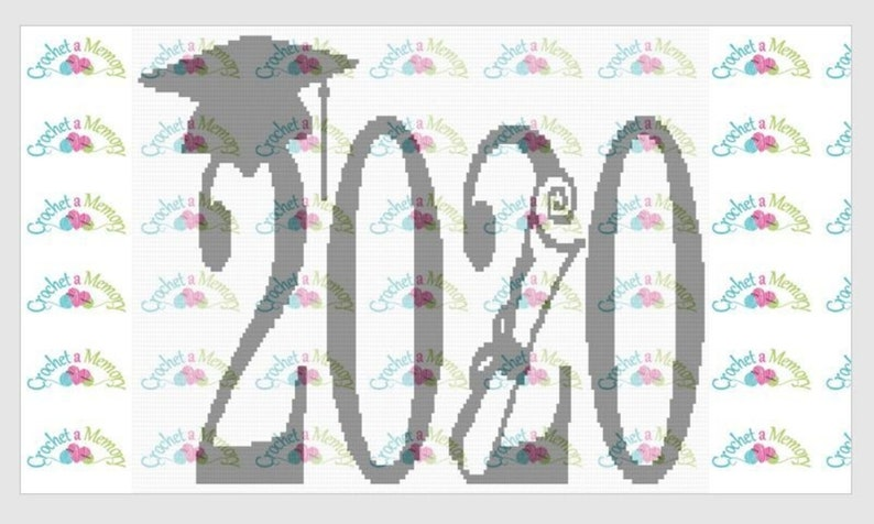 Graduation 2020 SC Graphgan or Cross-Stitch Graph. Written image 0