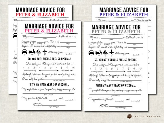 White Floral Wedding Mad Libs Mad Lib Printable Newlywed Mad Libs Advice Card Wedding Advice Printable Mad Lib Advice Wedding Activity
