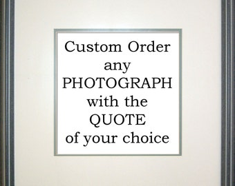 RESERVED ORDER for Anette - Fine Art Photographic Print