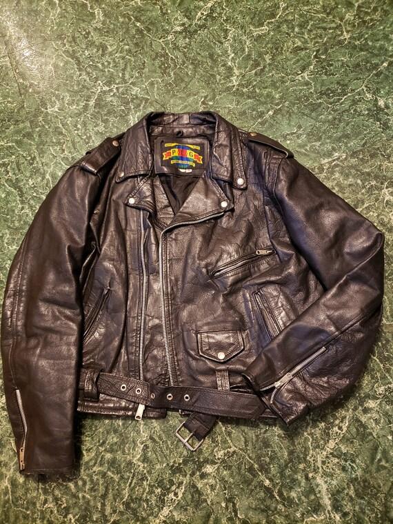 Leather Biker JacketBiker Harley OwnedGreat Motorcycle LeatherBiker Leather JacketMen/'s 46 L