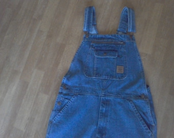 Overalls, Bibs, size 36waist, 32 length, work ware, farm cloths, vintage cloths, 100 percent cotton