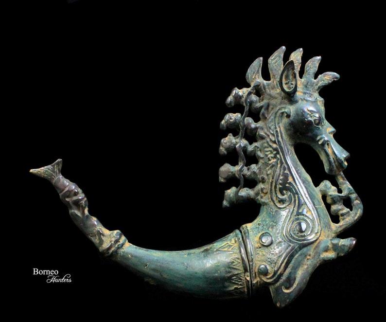 ec7655f9d7ae3 Bronze Sumatran Naga Morsarang From Batak Indonesia