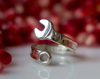 Nuts And Bolts Ring Etsy