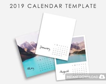 Diy Calendar Etsy